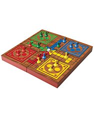 Ki nevet a végén? társasjáték összecsukható fa dobozban - 1. Kép