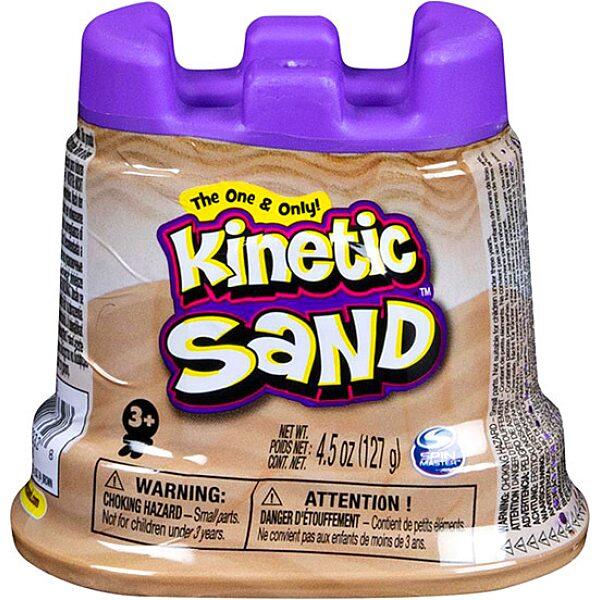 Kinetikus homok: csillogó homok tégelyben - világos barna