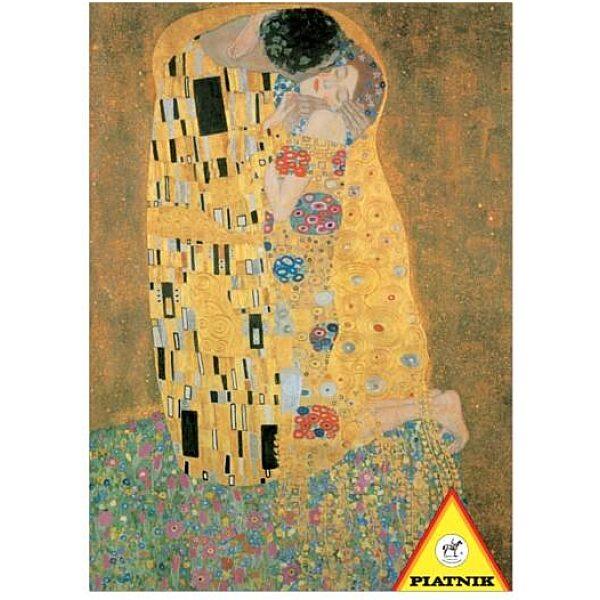 Klimt - A csók 1000 db-os puzzle - Piatnik - 3. Kép