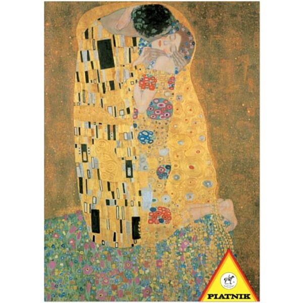 Klimt - A csók 1000 db-os puzzle - Piatnik - 1. Kép