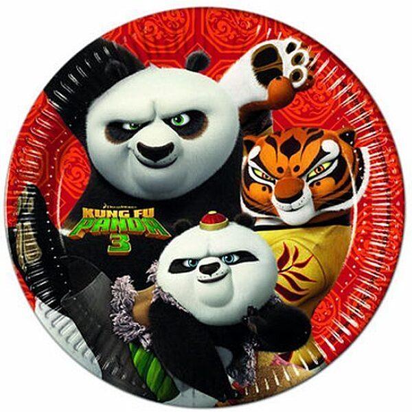 Kung Fu Panda papír tányér