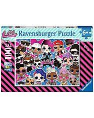 L.O.L. Surprise: 100 darabos XXL puzzle - 1. Kép