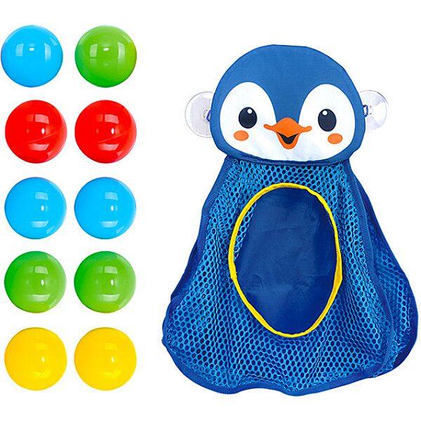 Labdagyűjtő pingvin fürdőjáték - 2. Kép