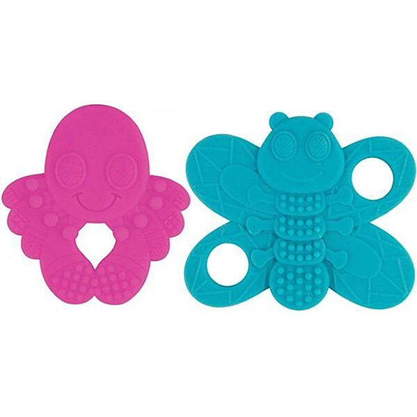 Lamaze: Pillangó szilikon rágóka - zöld - 1. Kép