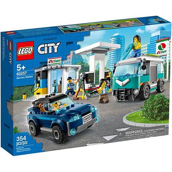 LEGO City: Benzinkút 60257 - 1. Kép