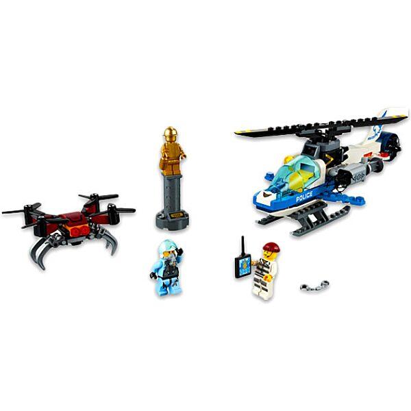 LEGO City: Légi rendőrségi drónos üldözés 60207 - 2. Kép