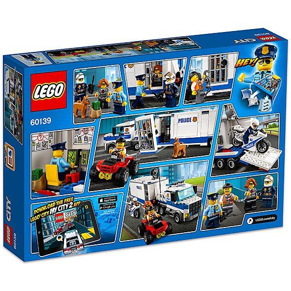 LEGO City: Mobil rendőrparancsnoki központ 60139 - 3. Kép