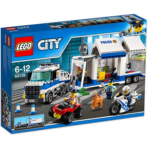 LEGO City: Mobil rendőrparancsnoki központ 60139 - 1. Kép