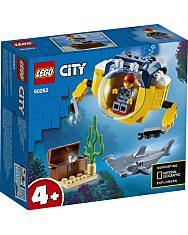 LEGO City: Óceáni mini-tengeralattjáró 60263 - 1. Kép