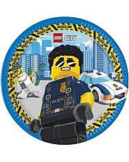 Lego City papírtányér