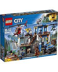 LEGO® City Police: Hegyi Rendorkapitányság 60174 - 1. Kép