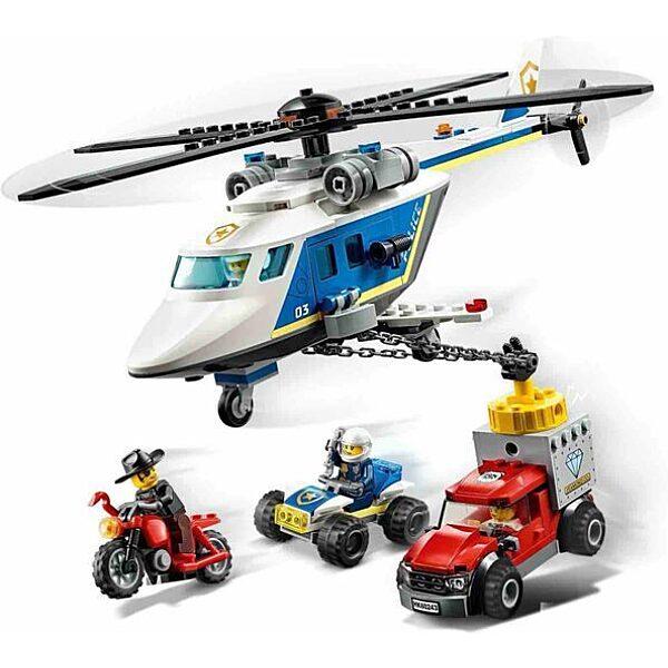 LEGO City: Rendőrségi helikopteres üldözés 60243 - 2. Kép