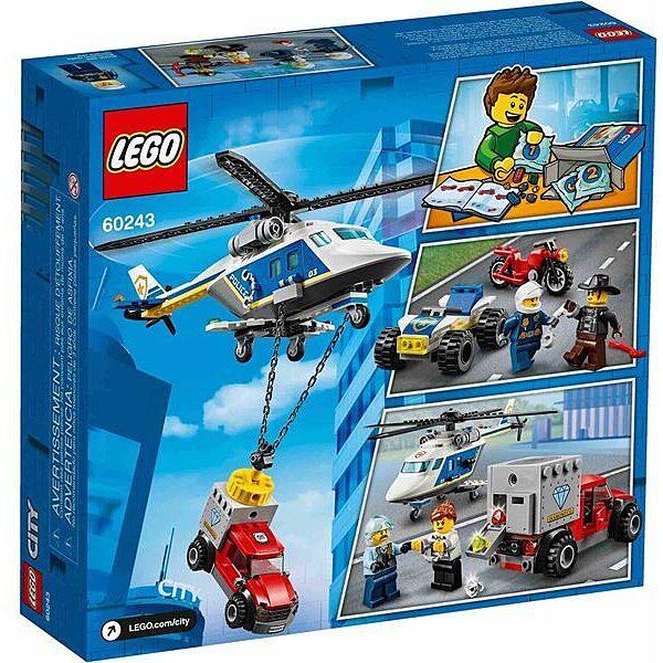 LEGO City: Rendőrségi helikopteres üldözés 60243 - 3. Kép