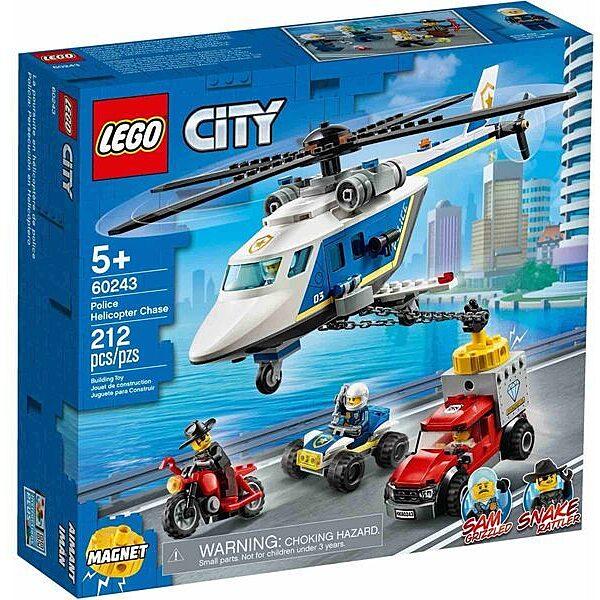 LEGO City: Rendőrségi helikopteres üldözés 60243 - 1. Kép
