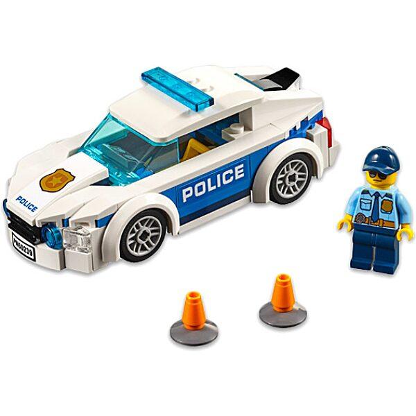 LEGO City: Rendőrségi járőrkocsi 60239 - 2. Kép
