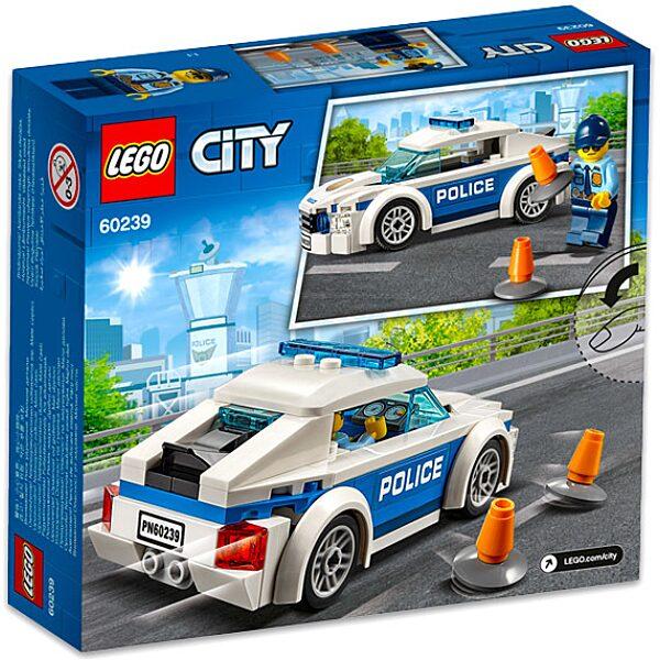 LEGO City: Rendőrségi járőrkocsi 60239 - 3. Kép
