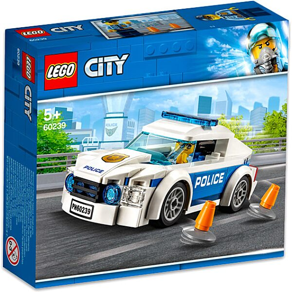 LEGO City: Rendőrségi járőrkocsi 60239 - 1. Kép
