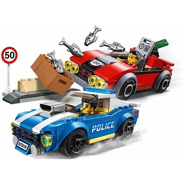 LEGO City: Rendőrségi letartóztatás az országúton 60242 - 2. Kép