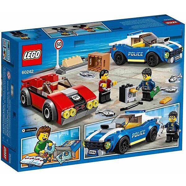 LEGO City: Rendőrségi letartóztatás az országúton 60242 - 3. Kép