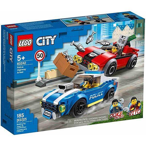 LEGO City: Rendőrségi letartóztatás az országúton 60242 - 1. Kép