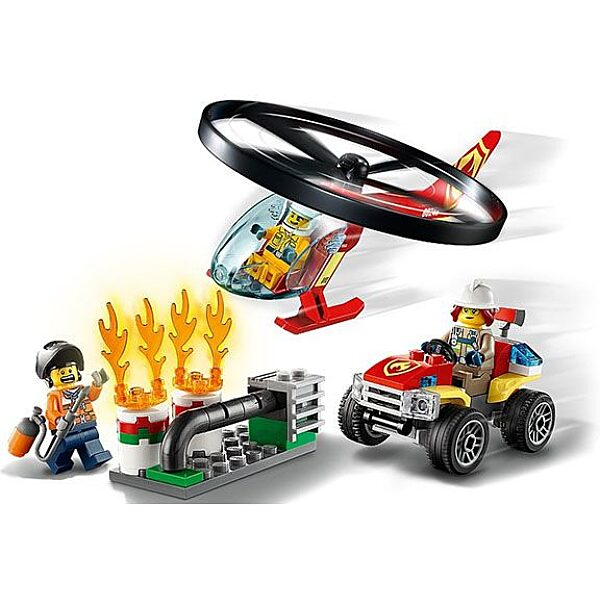 LEGO City: Sürgősségi tűzoltó helikopter 60248 - 2. Kép