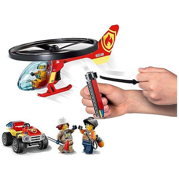 LEGO City: Sürgősségi tűzoltó helikopter 60248 - 3. Kép