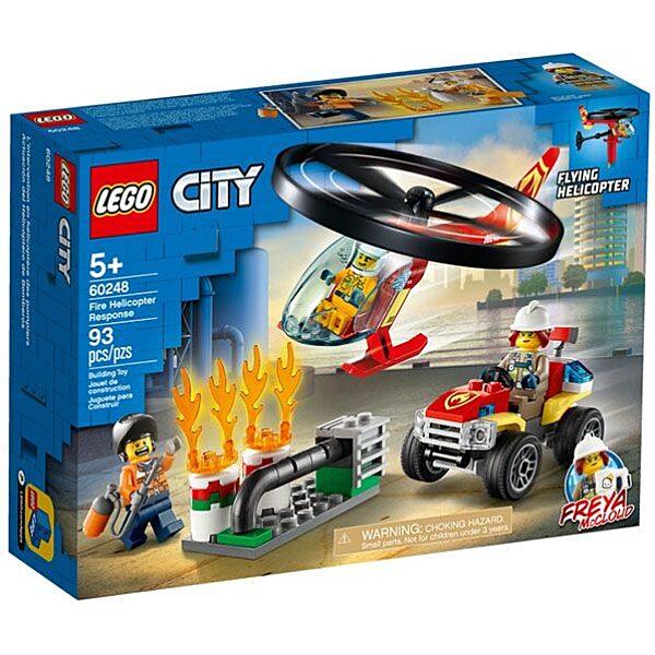 LEGO City: Sürgősségi tűzoltó helikopter 60248 - 1. Kép