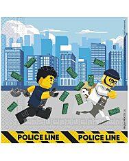 Lego City szalvéta 33 x 33 - 16 db - 1. Kép