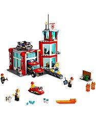 LEGO City: Tűzoltóállomás 60215 - 2. Kép