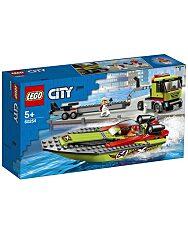 LEGO City: Versenycsónak szállító 60254 - 1. Kép