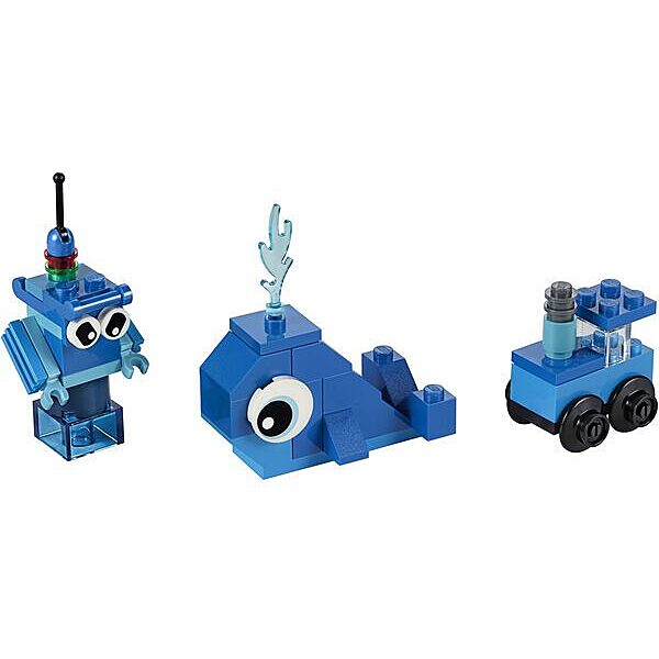 LEGO Classic: Kreatív kék kockák 11006 - 2. Kép