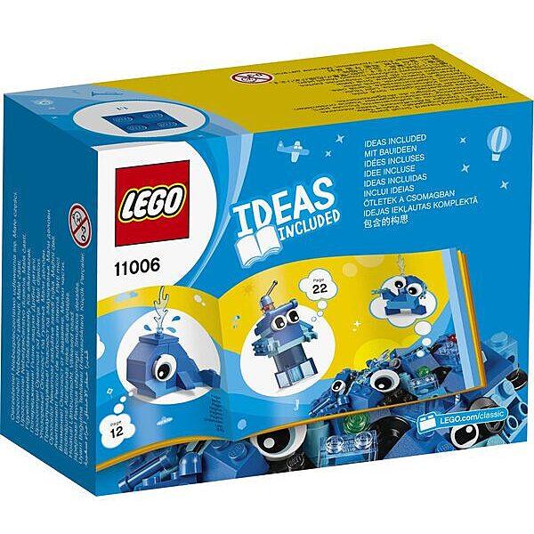 LEGO Classic: Kreatív kék kockák 11006 - 3. Kép