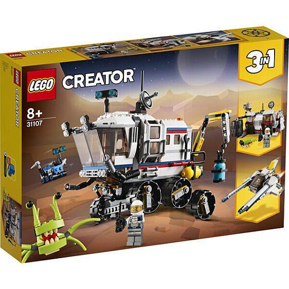 LEGO® Creator: Kutató űrterepjáró 31107 doboz