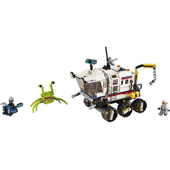 LEGO® Creator: Kutató űrterepjáró 31107