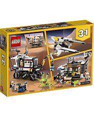 LEGO® Creator: Kutató űrterepjáró 31107 doboz hátulja