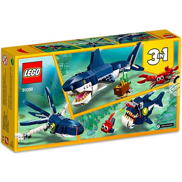 LEGO Creator:  Mélytengeri lények 31088 - 3. Kép