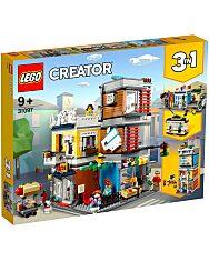 LEGO Creator: Városi kisállat kereskedés és kávézó 31097 - 1. Kép