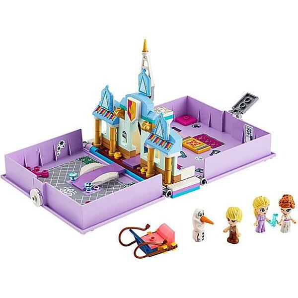 LEGO Disney Princess: Anna és Elza mesekönyve 43175 - 2. Kép