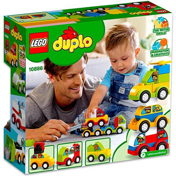 LEGO DUPLO: Első Autós Alkotásaim 10886 - 3. Kép