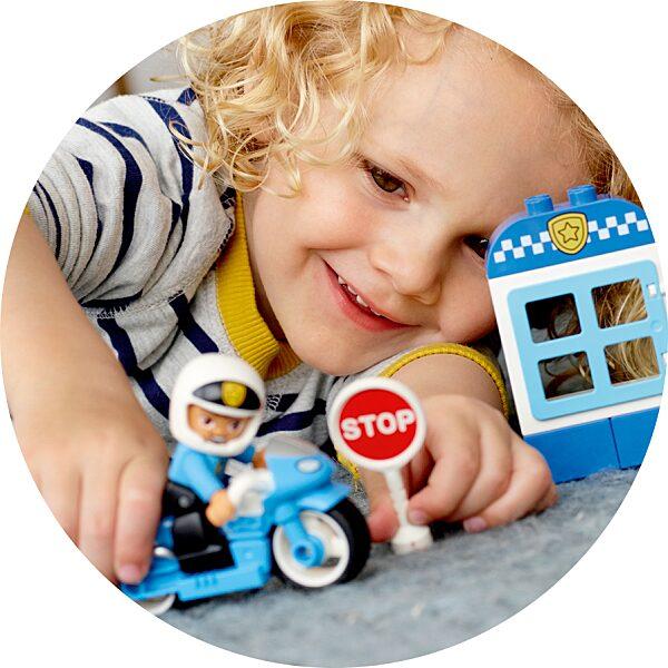 LEGO® DUPLO®: Rendőrségi motor 10900 - 5. Kép