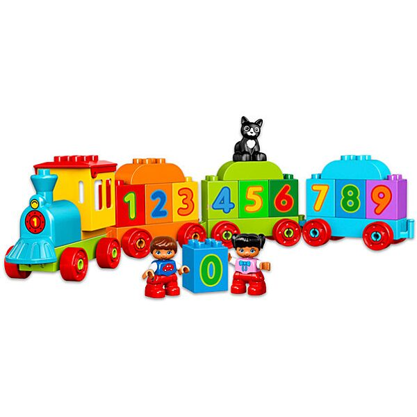 LEGO DUPLO: Számvonat 10847 - 2. Kép