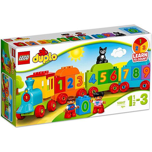 LEGO DUPLO: Számvonat 10847 - 1. Kép