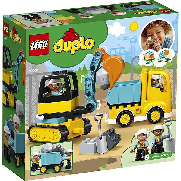 LEGO DUPLO: Teherautó és lánctalpas exkavátor 10931 - 3. Kép