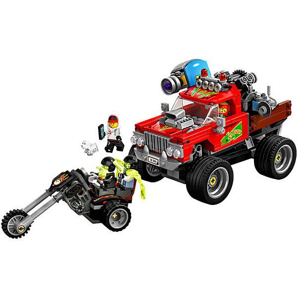 LEGO Hidden Side: El Fuego kaszkadőr járgánya 70421 - 2. Kép
