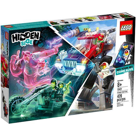 LEGO Hidden Side: El Fuego kaszkadőr járgánya 70421 - 1. Kép