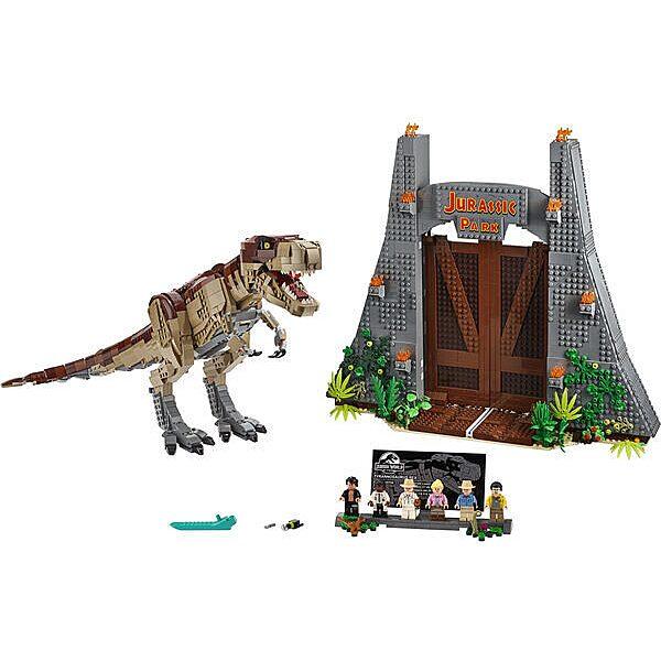 Lego Jurassic Park: T. rex tombolás 75936 - 2. Kép