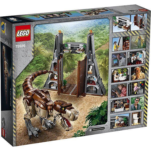 Lego Jurassic Park: T. rex tombolás 75936 - 3. Kép