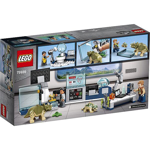 LEGO® Jurassic World: Dr. Wu laborja: Bébidinoszauruszok szökése 75939 - 2. Kép
