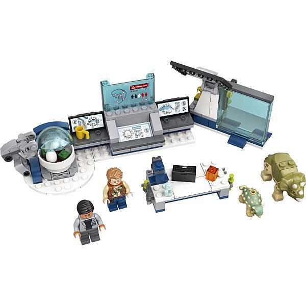 LEGO® Jurassic World: Dr. Wu laborja: Bébidinoszauruszok szökése 75939 - 3. Kép
