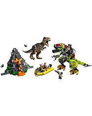 LEGO Jurassic World: T. rex és Dino-Mech csatája 75938 - 2. Kép